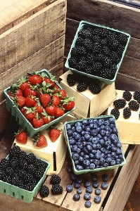 cholesterol pleasing berries