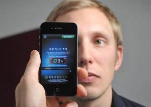 alcohol testing app