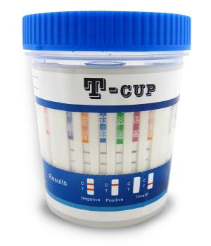 12 Panel T-Cup w/Adulteration ***SHORTDATED***