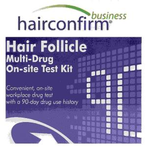 Legal Workplace Hair Drug Test Kit