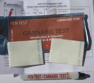 Marijuana Substance Test