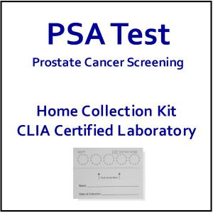Psa Test Home Psa Test Prostate Cancer Screening At Home