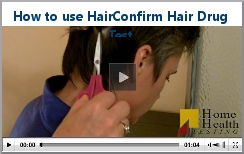 hair confirm hair drug test how to video